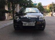 Bán Daewoo Gentra MT sản xuất năm 2008, màu đen xe gia đình giá 186 triệu tại Hà Nội