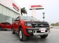 Cần bán lại xe Ford Ranger 3.2AT sản xuất 2014, màu đỏ, nhập khẩu giá cạnh tranh giá 659 triệu tại Hà Nội