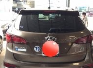 Bán Hyundai Santa Fe sản xuất năm 2016, màu nâu như mới giá 1 tỷ 46 tr tại Tp.HCM