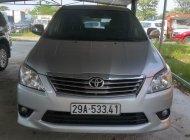 Cần bán lại xe Toyota Innova sản xuất cuối năm 2012, màu bạc giá 510 triệu tại Hà Nội