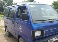 Cần bán Suzuki Super Carry Van sản xuất năm 2001, màu xanh lam giá 92 triệu tại Vĩnh Long