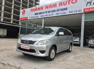 Bán Toyota Innova 2.0E đời 2013, màu bạc giá 525 triệu tại Hà Nội