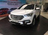 Cần bán Hyundai Santa Fe năm sản xuất 2018, màu trắng, giá tốt giá 1 tỷ 35 tr tại Tp.HCM
