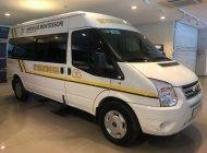 Bán Ford Transit 2.4L Medium năm 2016, màu trắng, vay ngân hàng 70% giá 675 triệu tại Tp.HCM
