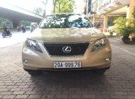Cần bán Lexus RX350 2010, màu vàng nội thất kem cực chất giá 1 tỷ 790 tr tại Hà Nội