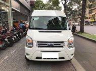 Bán xe Ford Transit 2.4 16 chỗ Luxury sản xuất 2016, màu trắng. Biển tỉnh, đăng ký tháng 10/2016 giá 710 triệu tại Hà Nội