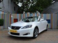 Bán ô tô Lexus IS 250C đời 2009, màu trắng, nhập khẩu nguyên chiếc số tự động giá 1 tỷ 250 tr tại Tp.HCM