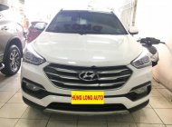 Bán xe Hyundai Santa Fe 2.2 CRDi 4WD đời 2017, màu trắng giá 1 tỷ 78 tr tại Hà Nội