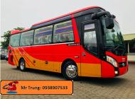 Bán xe 29 chỗ 34 chỗ TB85S 2018 Euro IV. Phanh ABS, Phanh điện từ. Hỗ trợ trả góp ngân hàng giá 1 tỷ 895 tr tại Tp.HCM