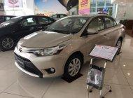 Cần bán Toyota Vios 1.5E sản xuất 2018, màu ghi vàng giá 490 triệu tại Tp.HCM