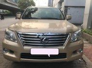 Bán Lexus LX 570 năm sản xuất 2009, màu vàng, nhập khẩu giá 3 tỷ 50 tr tại Hà Nội