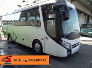 Bán xe 29-34 chỗ Thaco TB85 2018 Euro IV. ABS, Phanh điện từ. Trả góp qua ngân hàng giá 1 tỷ 895 tr tại Tp.HCM