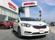Cần bán Kia K3 1.6 AT đời 2015, màu trắng, giá 554tr giá 554 triệu tại Hà Nội