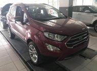 Bán ô tô Ford EcoSport sản xuất 2018 màu đỏ, 648 triệu giá 648 triệu tại Tp.HCM