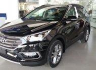Cần bán xe Hyundai Santa Fe 2.2 AT 4WD đời 2018, màu đen giá 1 tỷ 90 tr tại Tp.HCM