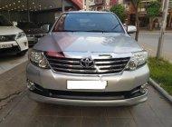 Cần bán Toyota Fortuner 2.7V 2016, màu bạc chính chủ giá 870 triệu tại Hà Nội