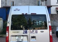 Cần bán Ford Transit đời 2016, màu bạc, 740tr giá 740 triệu tại Hà Nội