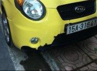 Cần bán lại xe Kia Morning SLX 1.0 AT năm sản xuất 2008, màu vàng, xe nhập chính chủ giá 222 triệu tại Hải Phòng