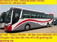 Bán xe 47 chỗ Thaco Trường Hải TB120S, máy W336 W375 giá 2 tỷ 480 tr tại Tp.HCM