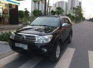Bán Toyota Fortuner năm sản xuất 2010, màu đen xe gia đình giá 615 triệu tại Tp.HCM
