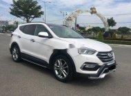 Bán ô tô Hyundai Santa Fe 2.2 AT đời 2016, màu trắng còn mới, giá tốt giá 1 tỷ 50 tr tại Gia Lai