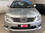 Cần bán xe Toyota Innova G 2013, màu bạc, hỗ trợ tài chính giá 620 triệu tại Tp.HCM