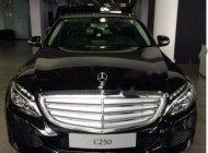 Bán Mercedes C250 đời 2017, màu đen số tự động giá 1 tỷ 600 tr tại Hà Nội