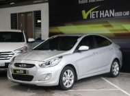 Cần bán lại xe Hyundai Accent 1.4 AT năm sản xuất 2013, màu bạc, xe nhập, giá 438tr giá 438 triệu tại Tp.HCM