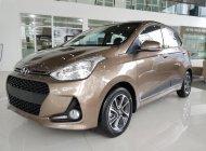 Cần bán xe Hyundai Grand i10 1.2 AT năm 2018, màu nâu giá 396 triệu tại Hà Nội