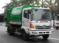 Xe cuốn ép rác Hino 9 khối, tải trọng 5 tấn giá 1 tỷ 260 tr tại Tp.HCM