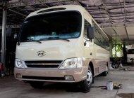 Bán xe 29 chỗ Hyundai County 2010 của nhà máy 3/2, đời 2010 màu ghi vàng tại TPHCM giá 500 triệu tại Tp.HCM