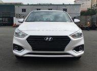 Bán Hyundai Accent 1.4 MT Base đời 2018, màu trắng, giá tốt giá 425 triệu tại Tp.HCM