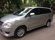 Cần bán lại xe Toyota Innova 2.0E đời 2013, màu bạc   giá 490 triệu tại Hà Nội