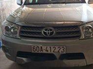 Cần bán gấp Toyota Fortuner năm sản xuất 2010, màu bạc chính chủ giá 650 triệu tại Đồng Nai