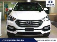 Cần bán lại xe Hyundai Santa Fe sản xuất 2018, màu trắng, giá tốt giá 918 triệu tại Bình Thuận