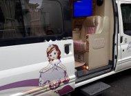 Bán Ford Transit Limousine Dcar sản xuất 2014, màu trắng  giá 890 triệu tại Tp.HCM