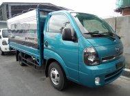 Bán xe tải 1.4 tấn (1490 kg) Kia Frontier K250 mui bạt, màu xanh, động cơ Hyundai, hỗ trợ trả góp giá 389 triệu tại Tp.HCM