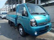 Bán xe tải 2.4 tấn (2490 kg) Kia Frontier K250 thùng lửng, màu xanh, hỗ trợ trả góp giá 389 triệu tại Tp.HCM
