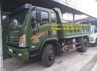 công ty bán xe ben Dongfeng 6.9 tấn – 6t9 1 cầu, 2 cầu thùng ben 6 khối giá 460 triệu tại Tp.HCM