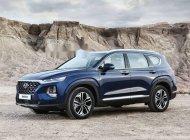 Cần bán Hyundai Santa Fe đời 2018, màu xanh lam, giá tốt giá Giá thỏa thuận tại Đà Nẵng