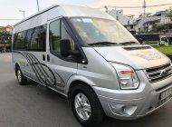 Bán Transit Luxury cuối 2014 loại cao cấp màu bạc, 16 chỗ. Xe nhà xài kĩ giá 610 triệu tại Tp.HCM