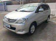 Cần bán lại xe Toyota Innova 2.0G đời 2010, màu bạc  giá 410 triệu tại Tp.HCM