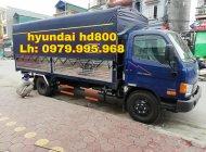 Xe tải Hyundai HD800 giá rẻ nhất, hỗ trợ trả góp giá 675 triệu tại Hà Nội