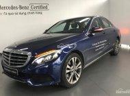 Cần bán xe Mercedes C250 Exclusive sản xuất 2017, màu xanh đen, xe cũ đã qua sử dụng giá 1 tỷ 659 tr tại Tp.HCM
