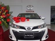 Bán Toyota Vios 1.5G 2018, màu trắng, giá tốt, khuyến mại khủng giá 606 triệu tại Nam Định