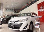 Cần bán Toyota Vios 1.5E AT năm sản xuất 2018, màu trắng, 569tr giá 569 triệu tại Tp.HCM
