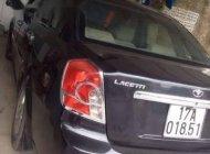 Cần bán Chevrolet Lacetti 2009, màu đen, giá 165 triệu giá 165 triệu tại Thái Bình