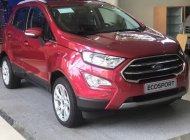 Bán Ford EcoSport sản xuất 2018, màu đỏ. Ưu đãi bùng nổ tháng 8 giá 648 triệu tại Tp.HCM