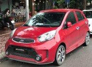 Bán ô tô Kia Morning số sàn đời 2017, màu đỏ giá 345 triệu tại Hà Nội