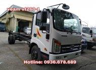 Bán xe tải veam vt260-1 thùng dài 6m,tải trọng 2 tấn,động cơ Isuzu,hỗ trợ trả góp giá 450 triệu tại Hà Nội